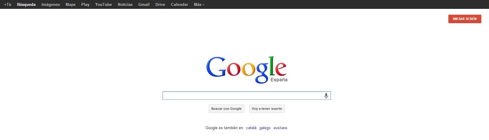 Google diseño anterior