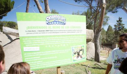 #skylanderszoo con lo lemures Zoo