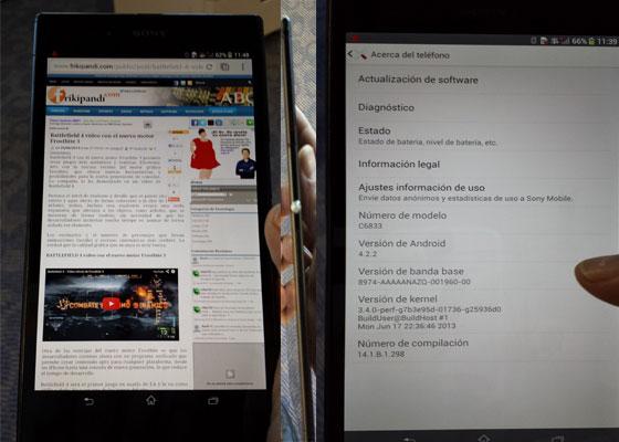 Imagen Sony Xperia Z Ultra