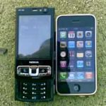 Nokia N95 8GB vs Iphone vs HTC TyTN II o 3600