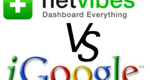 iGoogle vs Netvibes
