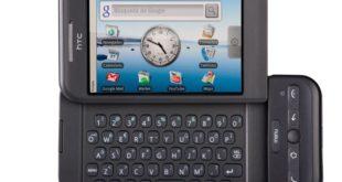 HTC Dream el primer móvil con Android