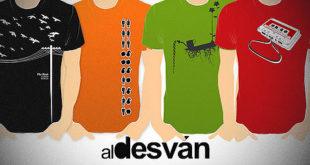 Aldesvan.es tienda de camisetas online.