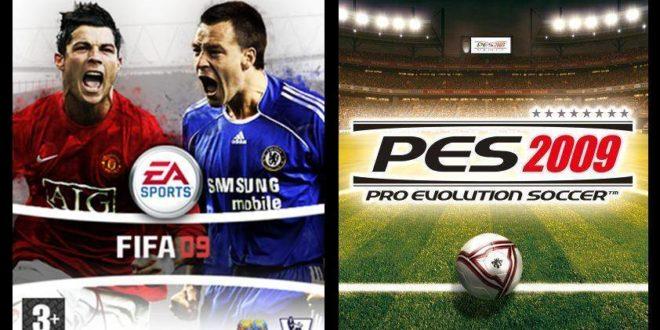 Pro Evolution Soccer 2009 y Fifa 09 nuevo combate de los simuladores de fútbol más vendidos. Vídeos