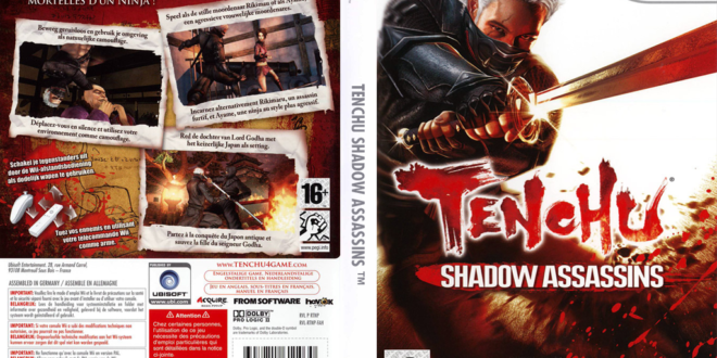 Tenchu Shadow Assassins para Wii ( Tenchu4 )