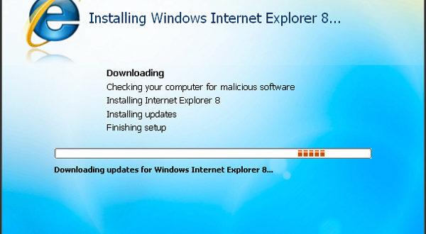 Actualización automática. Microsoft Internet Explorer 8 será obligatorio en Windows