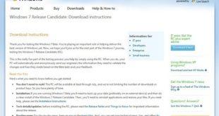 Betas Windows 7 en español. Versión Release Candidate disponible por fin su descarga oficial en español