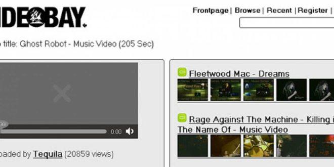 The Video Bay el Youtube pirata ya está online
