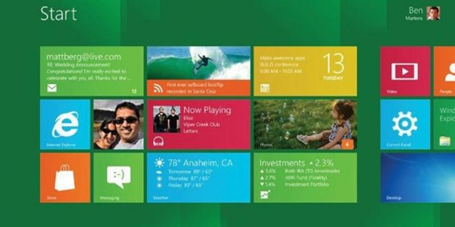 Microsoft Windows 8 o Windows Next