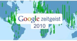 Lo más buscado en Internet en 2010 según Google