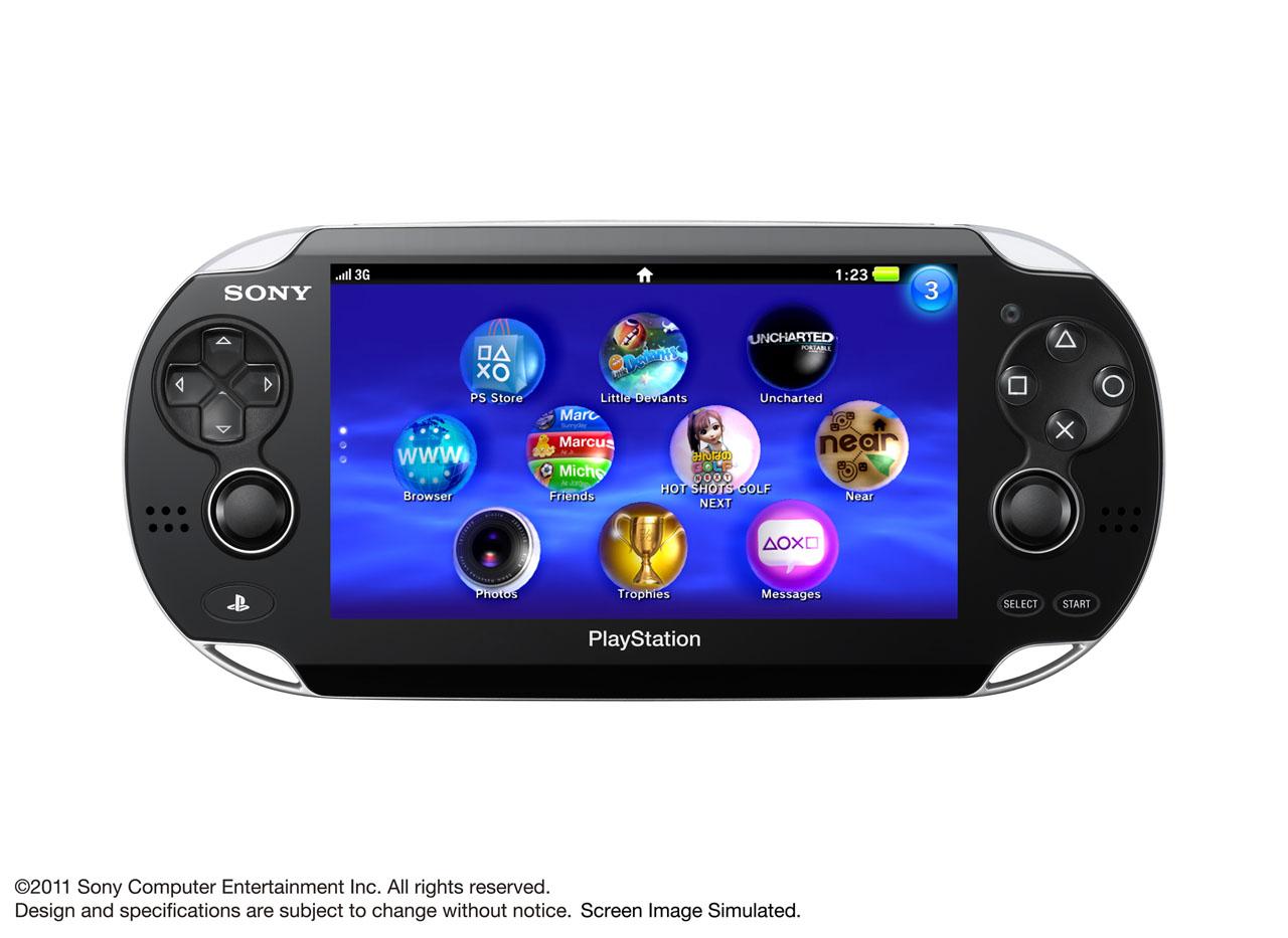 Sony Playstation NPG la futura PSP2 presentada en Tokio