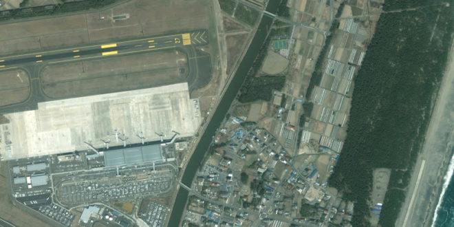 Imágenes de antes y después del Terremoto y Tsunami de Japón de Google Earth