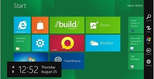 Descargar Windows 8. Presentación oficial y preview.