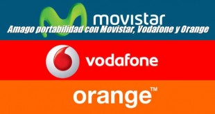 Amago portabilidad con Movistar, Vodafone y Orange