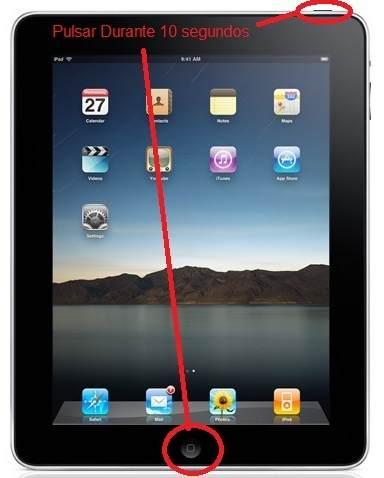 Solución mi iPad no enciende
