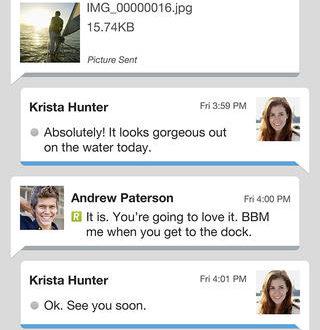 Descargar gratis Blackberry Messenger