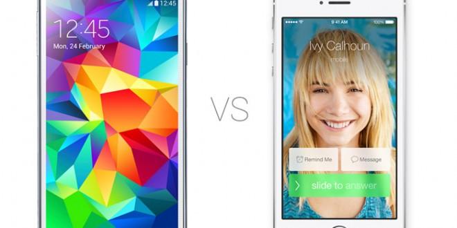 Samsung-Galaxy-S5-vs-iPhone-5S