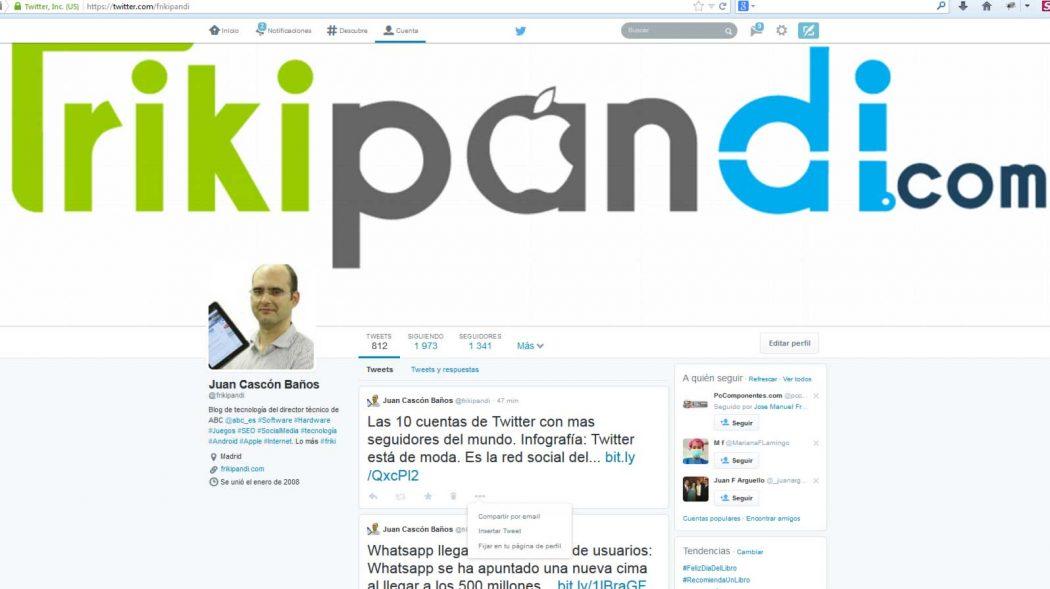 Nuevo perfil de Twitter para todo el mundo. Actívalo