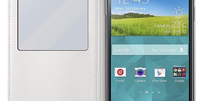 Funda View Cover para el Samsung Galaxy S5