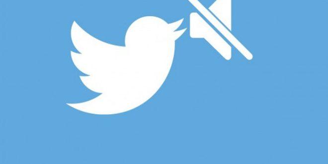 Twitter con Mute para silenciar usuarios. #socialmedia