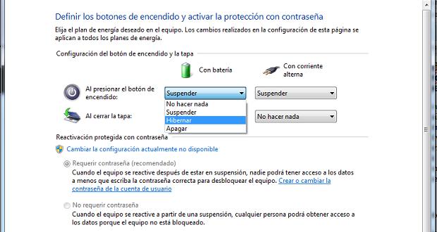 ¿Cómo desactivar suspensión en Windows 7, Windows 8 y XP?