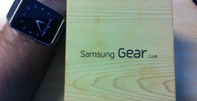 Unboxing Samsung Gear Live. Razones para comprar un Samsung Gear Live