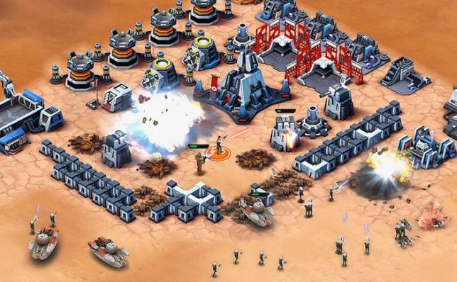 Descargar gratis Star Wars Commander para iPhone e iPad