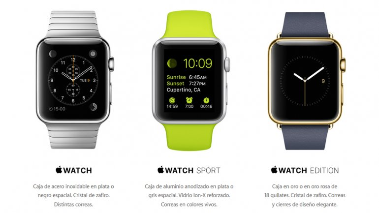 Apple Watch, el reloj inteligente de Apple una desilusión