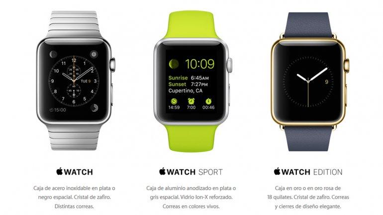 Apple Watch, el reloj inteligente de Apple una desilusión