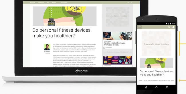 Google Contributor, una suscripción para eliminar la publicidad en la web