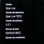Reloj Android wear 5.0.1
