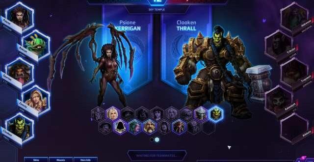 Heroes of the Storm beta cerrada online