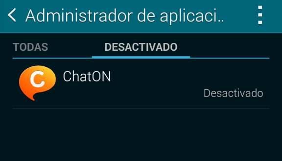 Inhabilitar y habilitar aplicaciones en Android
