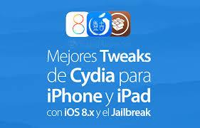 Los mejores tweaks Cydia para iOS 8.x del 2015