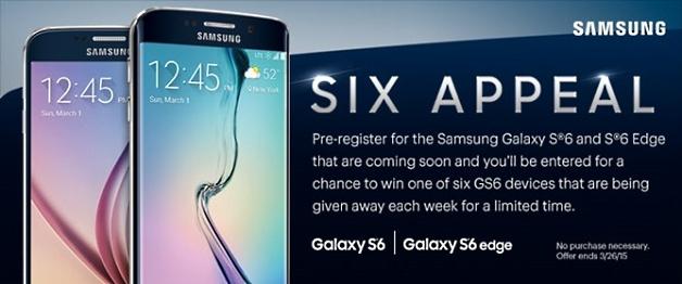 Samsung galaxy s6 promocional