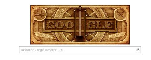 Alessandro Volta. Google dedica su doodle de hoy
