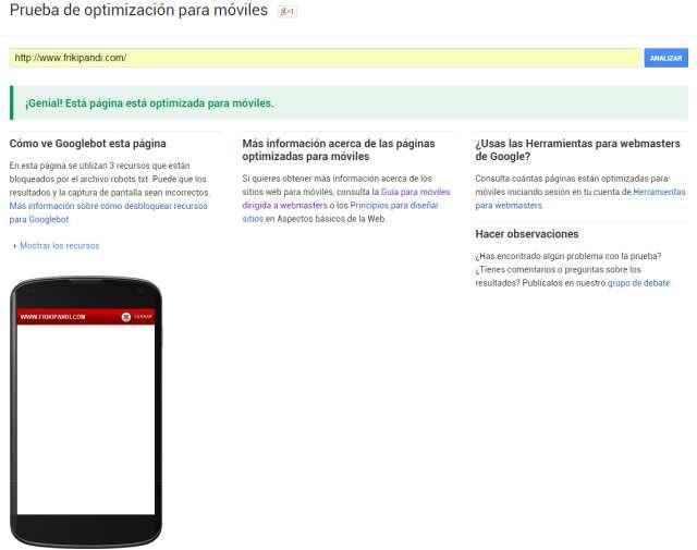 Google posicionará mejor las páginas adaptadas a dispositivos móviles el 21 de abril