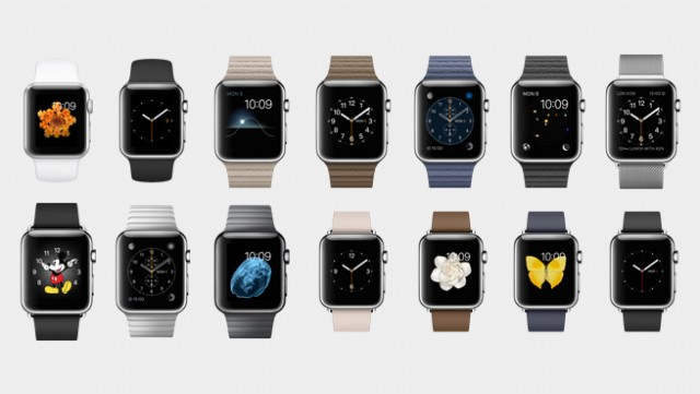 coleccion apple watch