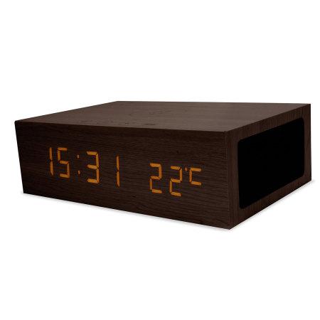 Reloj despertador con Bluetooth y con carga inalámbrica Qi de Olixar