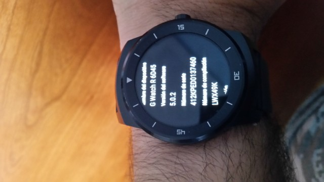 Android Wear 5.0.2