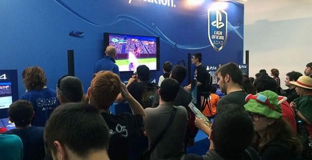 PlayStation hace disfrutar a miles de jugadores en el Salón del Comic de Barcelona