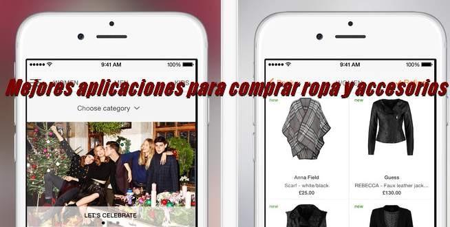 1cbac5a1e7 Las mejores apps para comprar calzado y ropa en Android
