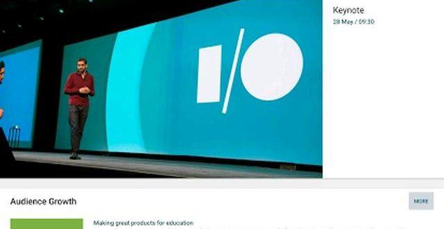 ¿Cómo seguir en directo la Google I/O 2015? Widget y app para tu smartphone