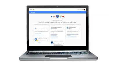 Controla tu privacidad en Google myaccount.google.com