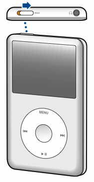 ¿Cómo arreglar iPod? botón bloqueo