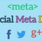 Etiquetas de Facebook, Twitter y Google en tu Web. Mejora tus meta tags en tu socialmedia.