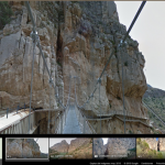 Caminito del Rey en Google Street View