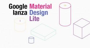 Google Material Design Lite para Web