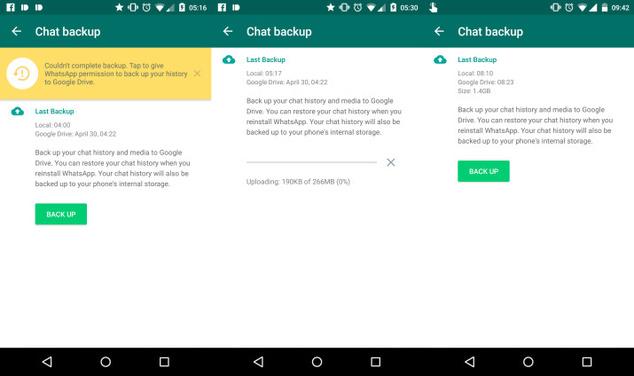 WhatsApp v2.12.194 copias de seguridad, notificaciones y mucho más