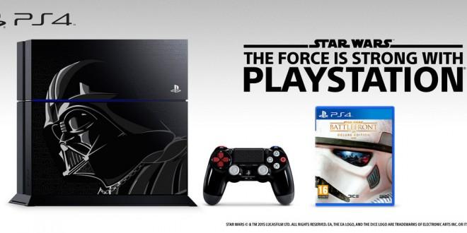 Nueva PlayStation 4 Edición Limitada inspirada en Darth Vader